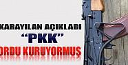 Karayılan Açıkladı: PKK Ordu Kuruyormuş