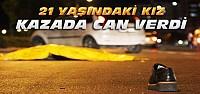 Karşıya Geçerken Otomobil Çarpan Kız Öldü