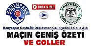 Kasımpaşa Konyaspor Özeti ve Goller-VİDEO