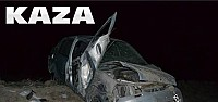 Kaza:Otomobil Tarlaya Uçtu