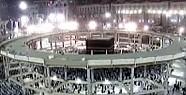 Kâbe'nin Çevresine Çelik Halka Yaptılar-Video