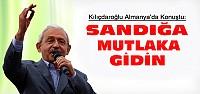 Kılıçdaroğlu Almanya'daki Mitingde Konuştu
