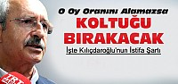 Kılıçdaroğlu Bu Oyu Alamazsa İstifa...