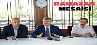 Konya Büyükşehirde Ramazan Ayı Mesaisi