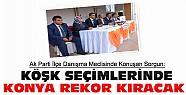 Konya Cumhurbaşkanlığı Seçimlerinde Rekor Kıracak