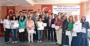 Konya Ereğli'de 28 Kursiyere Sertifikalar Verildi