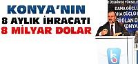 Konya, İhracatta 1 Milyar Doları Aştı