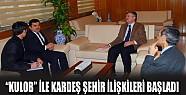 Konya ile Kulob Arasında Kardeş Şehir İlişkileri Bşladı
