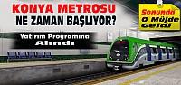 Konya Metrosunda Yeni Gelişme