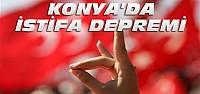 Konya MHP'de 9 kişi istifa etti