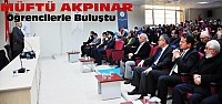 Konya Müftüsü NEÜ'deki Konferansta Konuştu