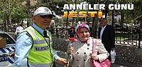 Konya'da Kadın Sürücülere Anneler Günü...