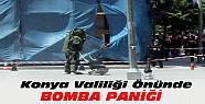 Konya Valiliği Önünde Bomba Paniği