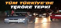 Konya ve Türkiye'de Teröre Tepki Yürüyüşleri