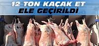 Konya'da 12 Ton Kaçak Et Ele Geçirildi