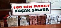 Konya'da 160 Bin Paket Kaçak Sigara