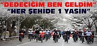 Konya'da 253 Bin Şehide 253 Bin Yasin