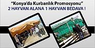 Konya'da 2 alana 1 bedava kurban promosyonu