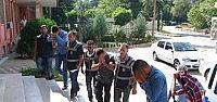 Konya'da 4 Hırsızlık Şüphelisi Yakalandı