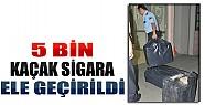 Konya'da 5 Bin Kaçak Sigara Ele Geçirildi