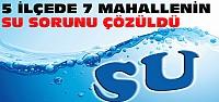 Konya'da 7 Mahallenin Daha Su Sorunu Çözüldü