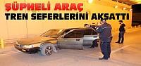 Konya'da alt geçitte şüpheli araç paniği