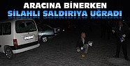 Konya'da Aracına Binen Kişiye Silahlı Saldırı