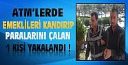 Konya'da ATM'de Emeklileri Kandıran Şahıs Yakalandı
