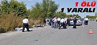 Konya'da Bir Kaza Daha:1 Ölü 1 Yaralı