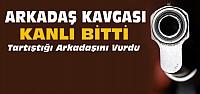 Konya'da Bir Kişi Arkadaşını Tüfekle Vurdu