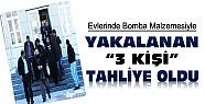 Konya'da bomba malzemesiyle yakalanan 3 kişi tahliye edildi