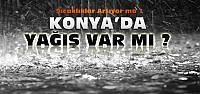 Konya'da Bu Hafta Yağış Var mı? İşte...