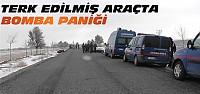 Konya'da Çalıntı Araçta Bomba Paniği