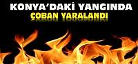Konya'da Çiftlik Evinde Yangın