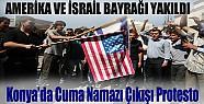 Konya'da Cuma Namazı Çıkışı Protesto !