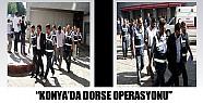 Konya'da dorse operasyonu