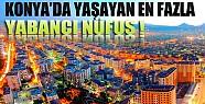 Konya'da En Fazla Yaşayan Yabancı Nüfus