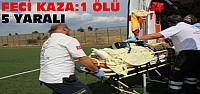 Konya'da Feci Kaza:1 Ölü 5 Yaralı