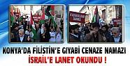 Konya'da Filistin İçin Gıyabi Namaz