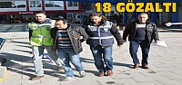 Konya'da Fuhuş Operasyonu:2'si Kadın 18...