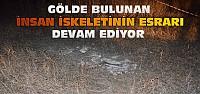 Konya'da Gölde Bulunan İnsan İskeleti