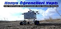 Konya'da Hava Savunma Aracı Yaptılar