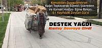 Konya'da Herkesi Duygulandıran Kadına...