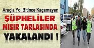 Konya'da Hırsızlık Şüphelileri Kaçarken Yol Bitince Yakalandılar