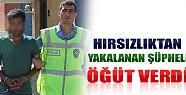 Konya'da Hırsızlıktan Yakalanan Şüpheli Öğüt Verdi