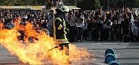 Konya'da İtfaiye Haftası Kutlanıyor