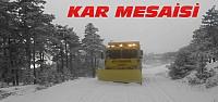 Konya'da Kar Mesaisi