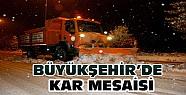 Konya'da Kar ve Buzlanma Çalışmaları