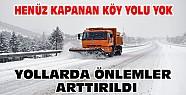 Konya'da Kar Yağışı Nedeniyle Yollardaki Önlemler Artırıldı