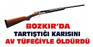 Konya'da Cinayet ! Karısını av tüfeğiyle öldürdü